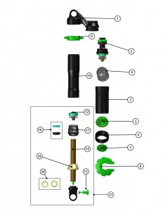 Jade Spare Parts Diagram